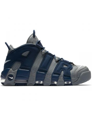 NIKE AIR MORE UPTEMPO '96 / 003 : COOL GREY/WHITE-MIDNIGHT NAVY