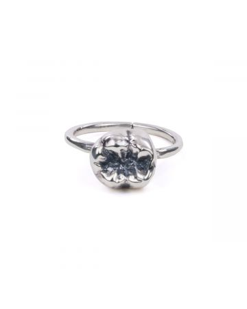 ALICE BLACK ROGER/CUT BAD TOOTH RING / SILVER