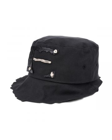 ADER Error LASER CUTTING DETAIL HAT / BLACK
