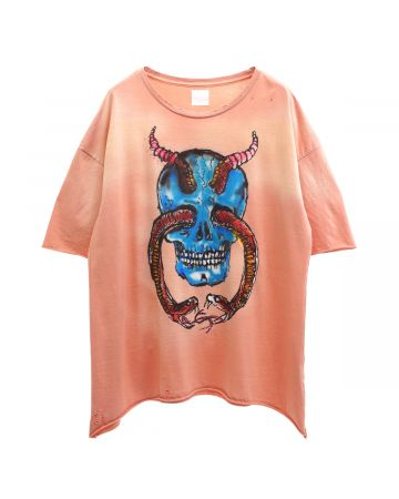 ALCHEMIST PACIFICA SS TEE / CORAL