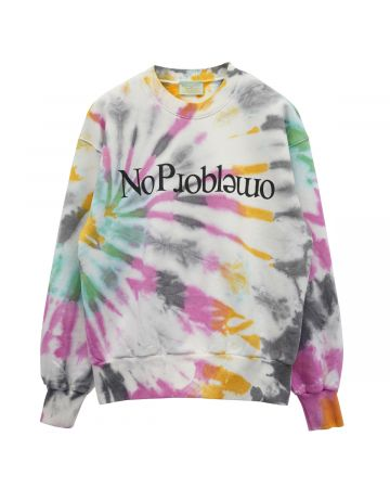 Aries NO PROBLEMO SWEATSHIRT CRUSTY / MULTI