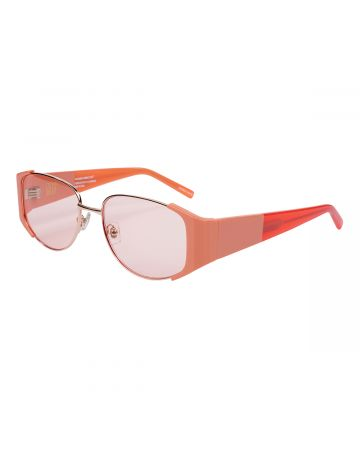 BONNIE CLYDE EYEWEAR PHLEMUNS DOUBLE CHECK-PHINK / PINK(PINK TINT LENS)