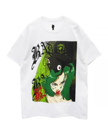 BILLIE EILISH by JUN INAGAWA Jun Inagawa S/S Tee White / WHITE