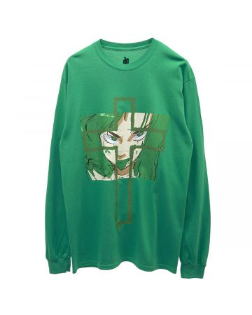 BILLIE EILISH by JUN INAGAWA Jun Inagawa L/S Tee Green / GREEN