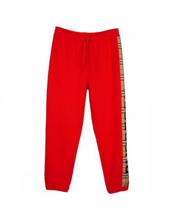 BURBERRY W JERSEY TROUSERS / A1460 : BRIGHT RED