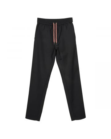 BURBERRY M CASUAL TROUSERS / A1189 : BLACK