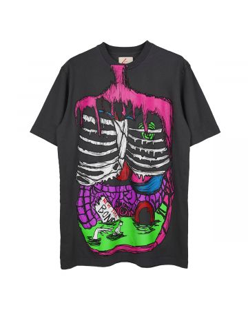 BOND VAULT BONES T-SHIRT / BLACK