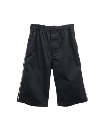 BALENCIAGA TIM39/PYJAMA SHORTS / 1000 : BLACK