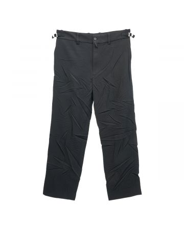 BALENCIAGA TKT01/LIGHT PANTS / 1000 : BLACK