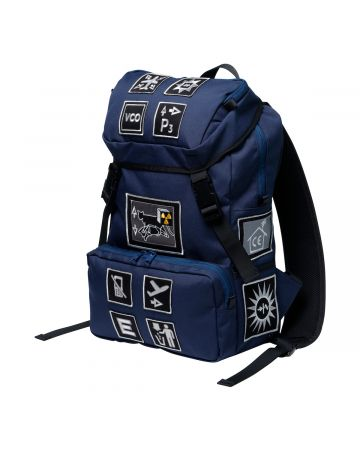 C.E PATCHED BACK PACK / NAVY