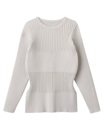 CFCL FLUTED TOP / LIGHT GRAY
