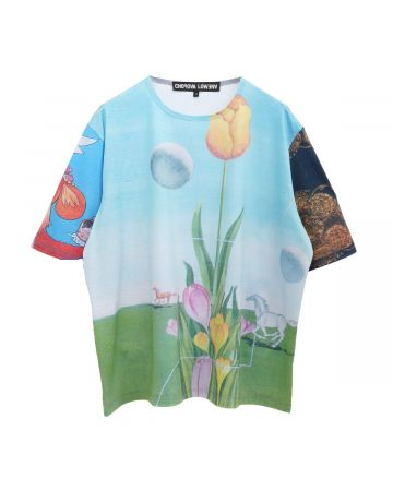 Chopova Lowena TULIP OVERSIZED T-SHIRT / MULTI