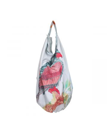 Chopova Lowena LONG BIRD BAG / WHITE MULTI