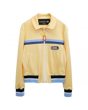 COOL T.M FITTED TRACKSUIT JACKET / YELLOW