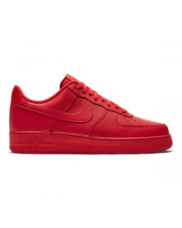 NIKE AIR FORCE 1 '07 LV8 1 / 600 : UNIVERSITY RED/UNIVERSITY RED