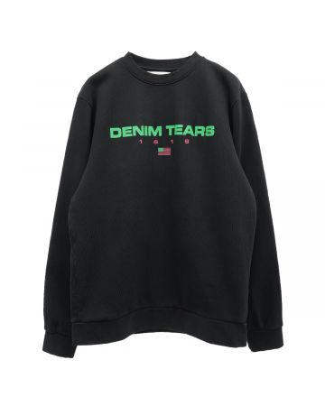Denim Tears DENIM TEARS SPORT SWEATSHIRT / BLACK