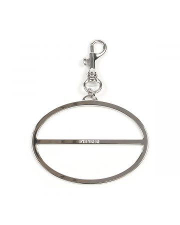 D'HEYGERE SCARF HOLDER / CHARCOAL-SILVER