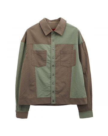 ECKHAUS LATTA DESERT BUTTONDOWN / CACTI