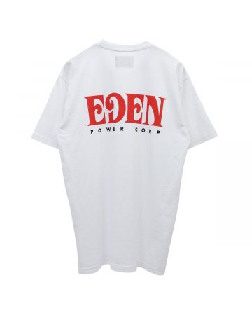EDEN Power Corp EDEN RECYCLED SHORTSLEEVE / 017 : WHITE-RED