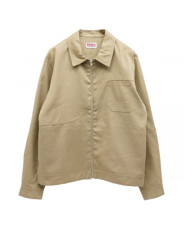 EDEN Power Corp CORP HEMP ORGANIC COACH JACKET / 001 : BEIGE