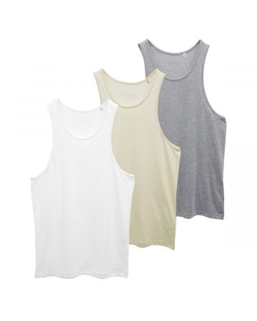ESSENTIALS 3 PACK TANKS / 089 : MULTI