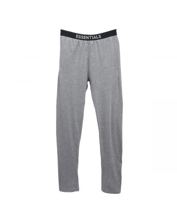 ESSENTIALS LOUNGE PANT / 367 : HEATHER GREY