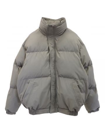 ESSENTIALS HO20 PUFFER JACKET / 504 : CEMENT