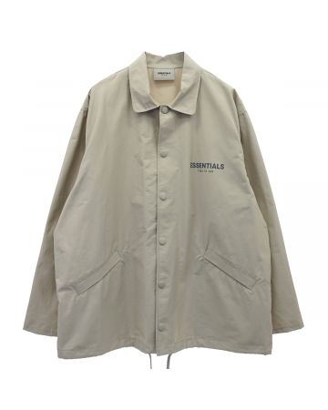 ESSENTIALS HO20 COACHES JACKET / 031 : OLIVE