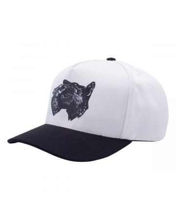 FUCKING AWESOME DOGS SNAPBACK / NATURAL-BLACK