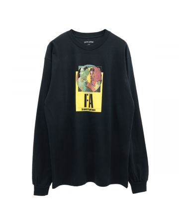 FUCKING AWESOME NOVEL OF YOUR FUTURE LS TEE / BLACK