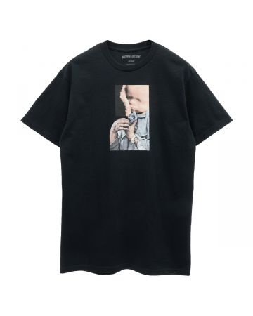 FUCKING AWESOME BABY CAT TEE / BLACK