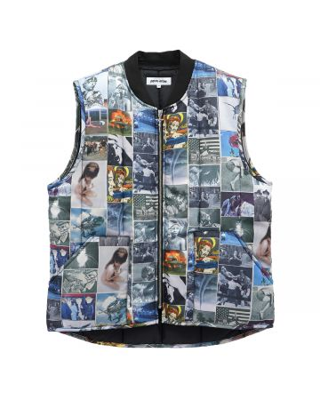 FUCKING AWESOME FROGMAN VEST / ALL OVER PRINT
