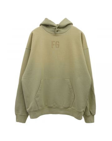 "FEAR OF GOD SEVENTH COLLECTION ""FG"" HOODIE / 336 : VINTAGE MATCHA"