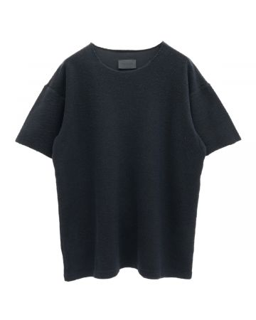 FEAR OF GOD SEVENTH COLLECTION INSIDE OUT TERRY TEE / 001 : BLACK