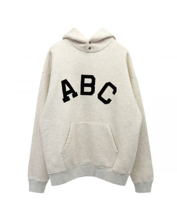 FEAR OF GOD SEVENTH COLLECTION ABC HOODIE / 101 : CREAM HEATHER