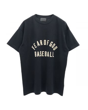 FEAR OF GOD SEVENTH COLLECTION BASEBALL TEE / 001 : BLACK