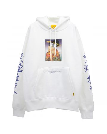 #FR2 UKIYOE SMOKING KILLS HOODIE / 001 : WHITE
