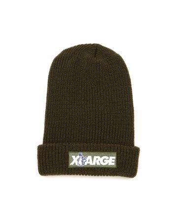 XLARGE COLLABORATION WITH #FR2 BEANIE / 126 : GREEN