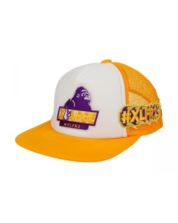 XLARGE collaboration with #FR2 MESH CAP / 203 : YELLOW