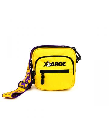 XLARGE collaboration with #FR2 SHOULDER BAG / YELLOW