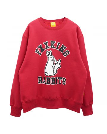 #FR2 COLLEGE ICON SWEAT / 241 : RED