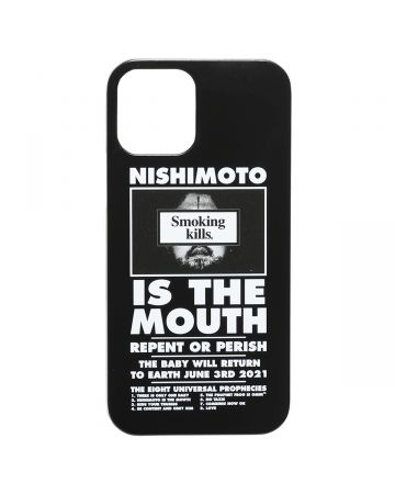 NISHIMOTO IS THE MOUTH Collaboration with #FR2 iPhone 12 Pro Max CASE (MAN) / 029 : BLACK