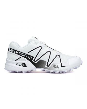 SALOMON SPEEDCROSS 3 / WHITE-WHITE-ALLOY