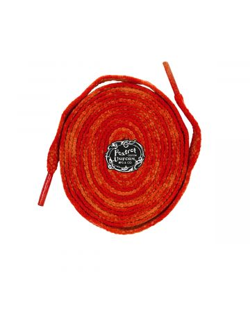 FOXTROT UNIFORM THREADS SPORT LACES / ORG-RED