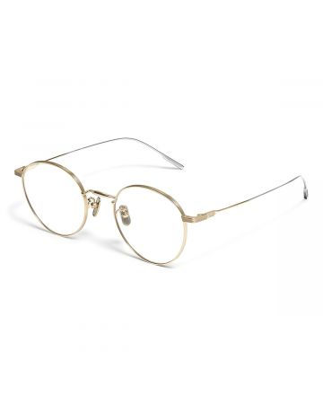 GENTLE MONSTER 9PROUD X-031 / GOLD-SILVER(CLEAR)