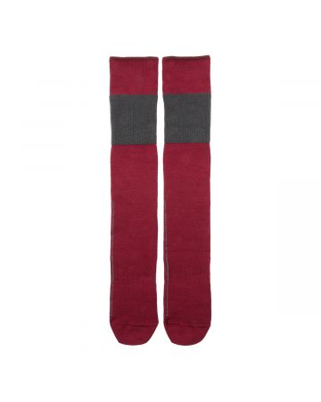 GR10K VIPER STACK SOCKS / BURGUNDY