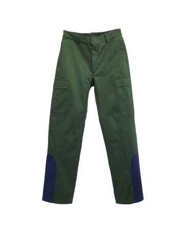 GR10K DF PROCESSING PATCH RIPSTOP PANTS / FOREST GREEN