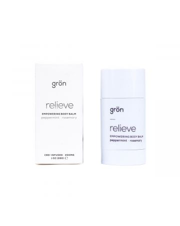 grön RELIEVE GRON BODY BALM