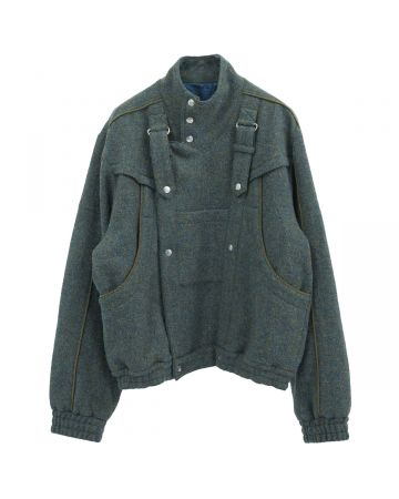 Georges Wendell HT400 RECYCLED WOOL JACKET / 002 : BLUE