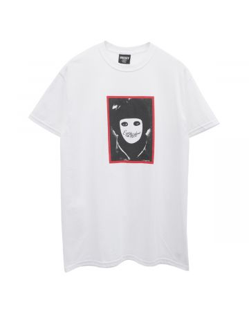 HOCKEY NO FACE TEE / WHITE